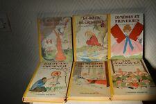 LOT 6 LIVRE LA COMPTESSE DE SEGUR VINTAGE 1940/1950 HACHETTE  BOOK/LIBRE