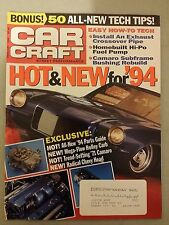 Car Craft Magazine - February 1994 - Hot & New for 94 - Parts Guide - 71 Camaro