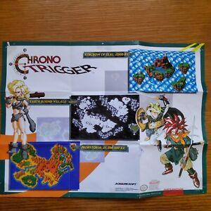 Chrono Trigger SNES Super Nintendo Ayla Frog Chrono Two Sided Poster Free Ship