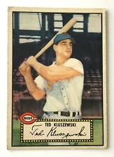 1952 Topps Baseball Card • Ted Kluszewski • #29