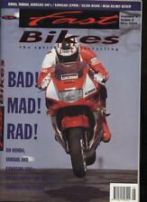 FAST BIKES MAGAZINE - May 1991