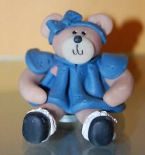 Adorable Sally Party Girl Teddy Bear Dressed Up Hand Crafted Figurine