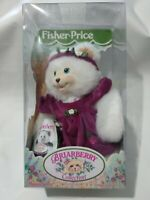 Fisher Price Briarberry Collection MaggieBerry Bear in Box Plush collectable Vtg