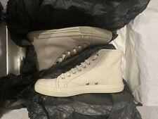 GUCCI Genuine Leather Hi Top Sneakers Size 8 US