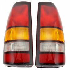 Rear Brake Lights Taillights Lamps Pair Set of 2 for 04-07 Sierra Pickup Truck