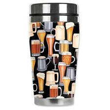 Beer Glass Alcohol Travel Mug Water Proof Insulated Cup Mugzie Brand MUG032