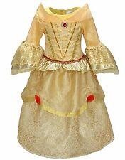 NWT Princess Belle Tangle Costume Dress , Girls Halloween Costume Size 3-4
