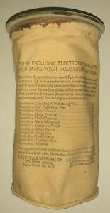 Vintage Electrolux Vacuum Dust Bag