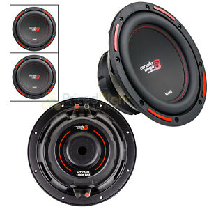"""2 Pack Cerwin Vega 10"""" Subwoofer Dual 4 Ohm 1200W Max DVC HED Series H7104D"""