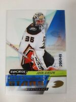 2020-21 Upper Deck Synergy John Gibson Exceptional Stars Clear Cut 296/449