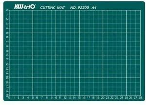 KW-triO A4 Self Healing Grid Cutting Mat Kw-triO Thickness 3mm
