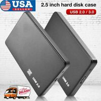 2.5 Inch HDD SSD Case Sata to USB 3.0/2.0 Hard Drive Enclosure 5Gbp Box for PC