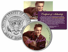 "Elvis Presley ""Guitar"" JFK Kennedy Half Dollar US Coin *Officially Licensed"