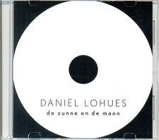 DANIEL LOHUES - De zunne en de maon 1TR DUTCH ACETATE PROMO CD 2016