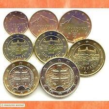 Euromünzen Kursmünzensatz KMS Slowakei 2009 Euro Münzen