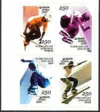 Korea 2007 Skateboarding/Extreme Sports/Games/Youth 4v s/a blk (n41252)