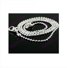 Free shipping 48 Pcs 1.5MM Silver Plate Ball Chain 1
