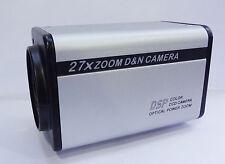 """PAL 700TVL 1/3"""" SONY Effio-E CCD 27X Zoom Camera CCTV Security RS485 Camera BOX"""