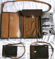 bag case Vintage original tablet Russian Soviet Army Officer Uniform Leather C