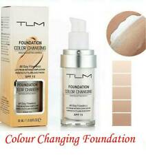 Magic Colour Changing Foundation TLM Makeup Cosmetic Change Skin Tone Concealer~