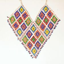 BellyDance KUCHI Tribal Afganistan Beaded NECKLACE 806h6