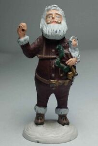 Miniature Pewter History Santa Claus Figurine Limited Edition DUNCAN ROYALE Xmas