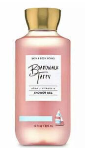 Bath & Body Works Boardwalk Taffy Shower Gel 10 Oz New