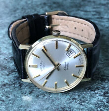 Vintage 1960s ROTARY Manual Wind Gold Plated Date Watch, Full Working Order