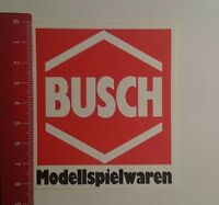 Aufkleber/Sticker: Busch Modellspielwaren (171116139)