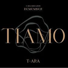T-ARA-[REMEMBER] 12th Mini Album TIARA CD+Photo Book+Photo Card K-POP Sealed