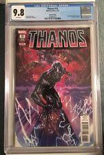Thanos #15 4th Print VARIANT CGC 9.8 Fallen One SILVER SURFER Black Marvel Cates