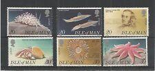 I.O.M 1994 EUROPA (EDWARD FORBES) SG,600-605 UM/M N/H LOT R519