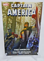 Captain America Two Americas Ed Brubaker Marvel Comics TPB Trade Paperback NEW