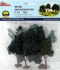 "JTT Scenery Green Deciduous Tree  2"" - 3"" Super Scenic, 10/pk 92130"
