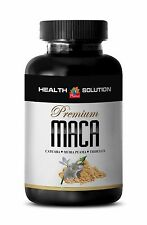 Strong Male Sex Tablets - Maca Complex 1301mg - Organic Maca Root Powder 1B