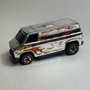 Hot Wheels Redline Super Van 1974 Chrome Super Chrome