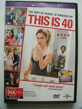 This Is 40 Dvd Region 2 4 Ma15+ Rated Comedy