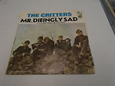 The Critters Mr. Dieingly Sad/It Just Won't Be 45 rpm Kapp Records [Sleeve Only]