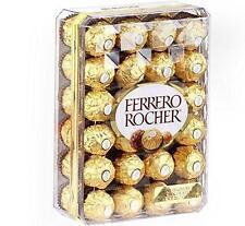 FERRERO ROCHER FINE HAZELNUT CHOCOLATE CANDY 48 INDIVIDUALLY GOLD WRAPPED BOX