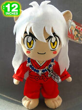 "12"" Inuyasha Standing Inuyasha Kawaii Rare Red Doll Plush Toy Gift"