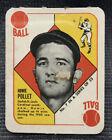 1951 Topps Red Backs Baseball Cards 69