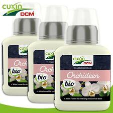 Cuxin 3 x 250 ML Engrais Liquide Orchidées Bio Naturel Croissance Nutriments