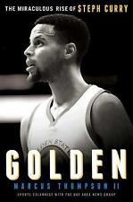 Golden Stephen Steph Curry Sports Biography Book by Marcus Thompson Hardcover