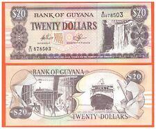 GUYANA - 20 DOLLARS - 1996-2016 - P-30e(2) - CANADIAN BANK - UNC