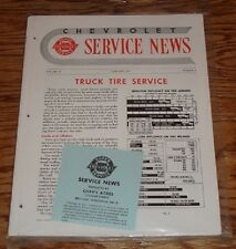 1951 Chevrolet Service News Magazine All 12 Issues 51 Chevy