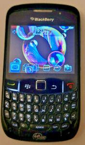 BlackBerry Curve 8530 - Black (Virgin Mobile) Smartphone