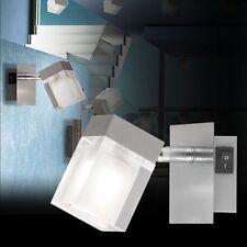 8 Stück Halogen Deckenleuchte 1-flammig 8 cm x 14 cm 40 Watt + Leuchtmittel