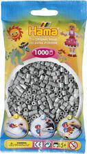 Hama 1000 Midi Bügelperlen 207-17 Grau Ø 5 mm Perlen Steckperlen Beads