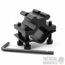 Universal 20mm Weaver / Picatinny Clamp on Rifle Barrel Rail Accessory Mount UK
