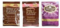 Hask Henna 'N' Placenta ORIGINAL / SUPER / MACADAMIA OIL  PACKS -- FREE SHIPPING